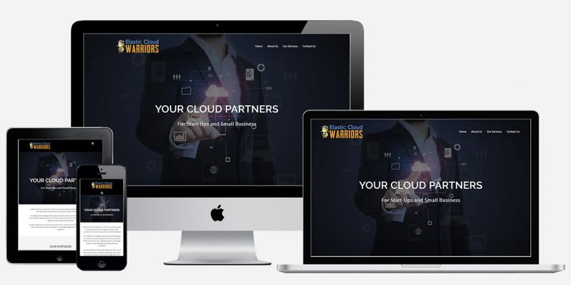 Wordpress Website Design - Elastic Cloud Warriors
