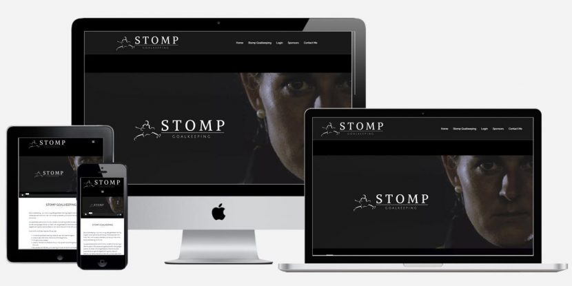Website Design Sydney - Stomp Goalkeeping