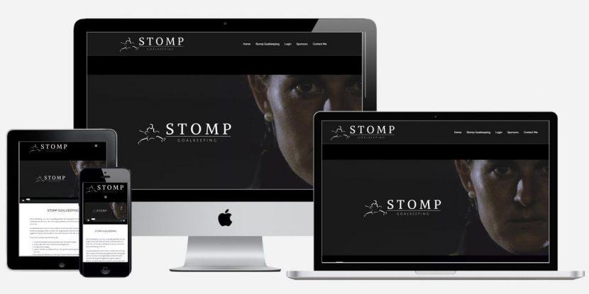 Website Design Sydney - Stomp Goalkeeping